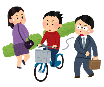 自転車損害賠償保険への加入義務(静岡県)